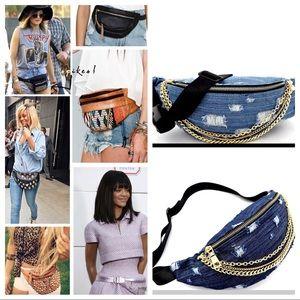 Handbags - ✨LAST ONE✨Hottest style✨Denim fanny pack